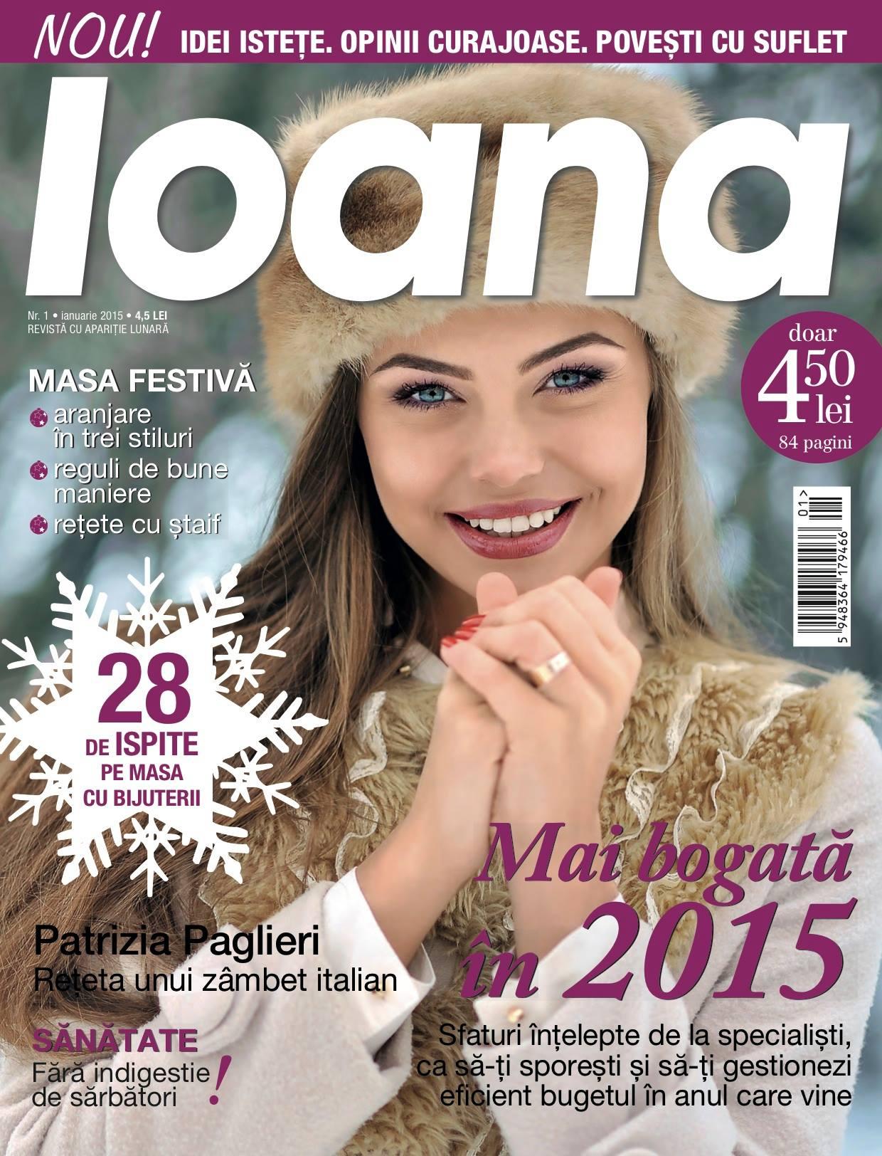 Revista Ioana ~~ Ianuarie 2015