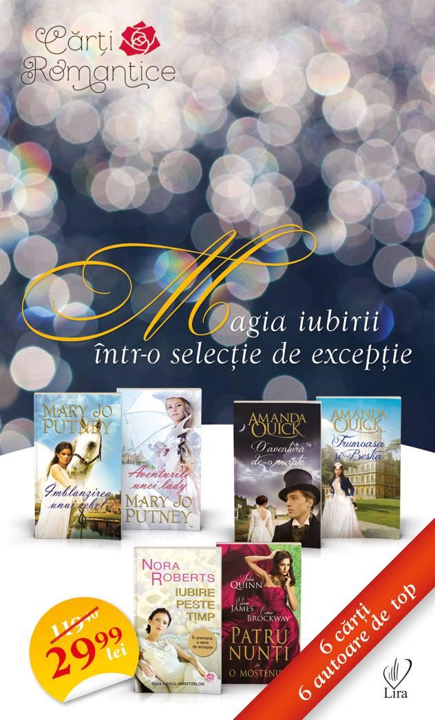 Pachet cu 6 romane din colectia Carti Romantice ~~ Pret: 30 lei ~~ din 14 Ianuarie 2015