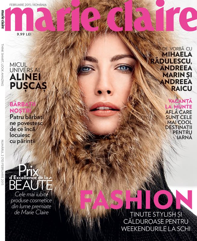 Marie Claire Romania ~~ Februarie 2015
