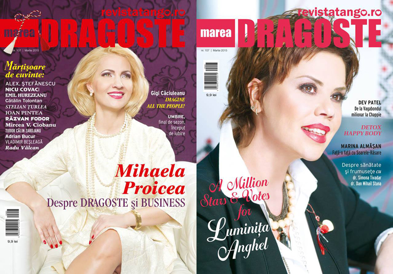 Tango - Marea Dragoste ~~ Coperta: Luminita Anghel si Mihaela Proicea ~~ Martie 2015