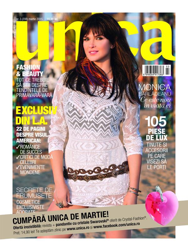 Promo pentru editia de Martie 2015 a revistei Unica ~~ Pret pachet: 15 lei