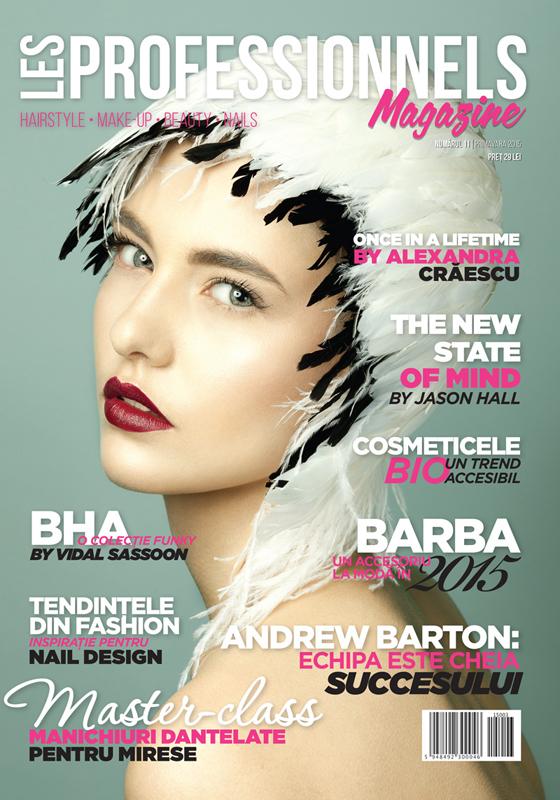 Les Professionnels Magazine ~~ Primavara 2015 ~~ Pret: 29 lei