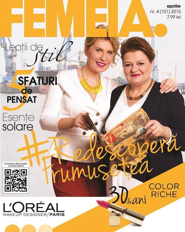 Revista FEMEIA. ~~ Aprilie 2015