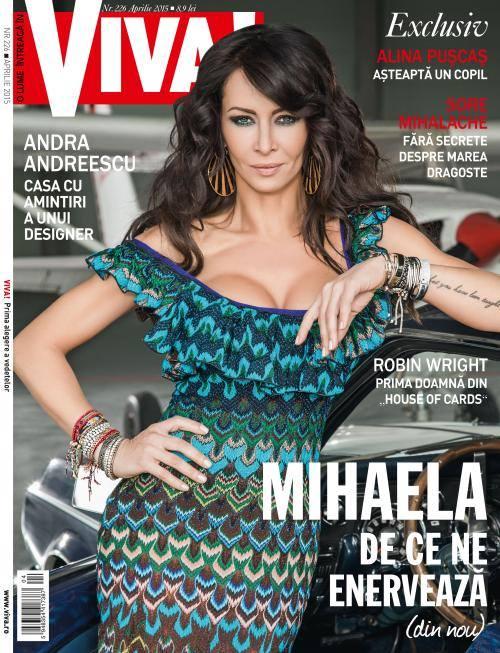 VIVA! Romania ~~ Coperta: Mihaela Radulescu ~~ Aprilie 2015