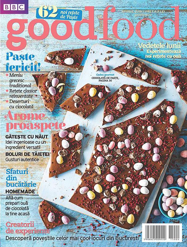 Good Food Romania ~~ Creatorii de experiente ~~ Aprilie 2015 ~~ Pret: 10 lei