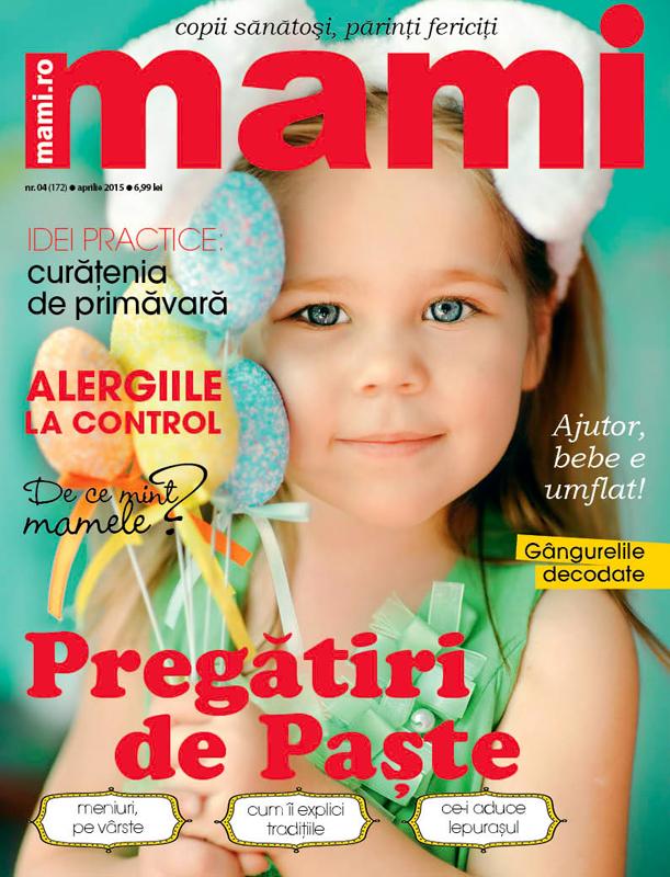 MAMI ~~ Pregatiri de Paste ~~ Aprilie 2015 ~~ Pret: 7 lei