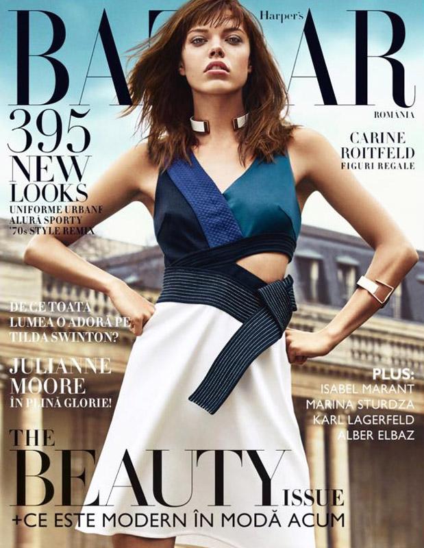 Harper\'s Bazaar Romania ~~ The Beauty Issue ~~ Mai-Iunie 2015