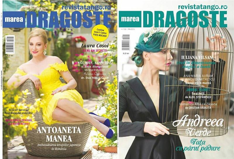 Tango Marea Dragoste ~~ Coperta: Antoaneta Manea si Andreea Verde ~~ Mai 2015