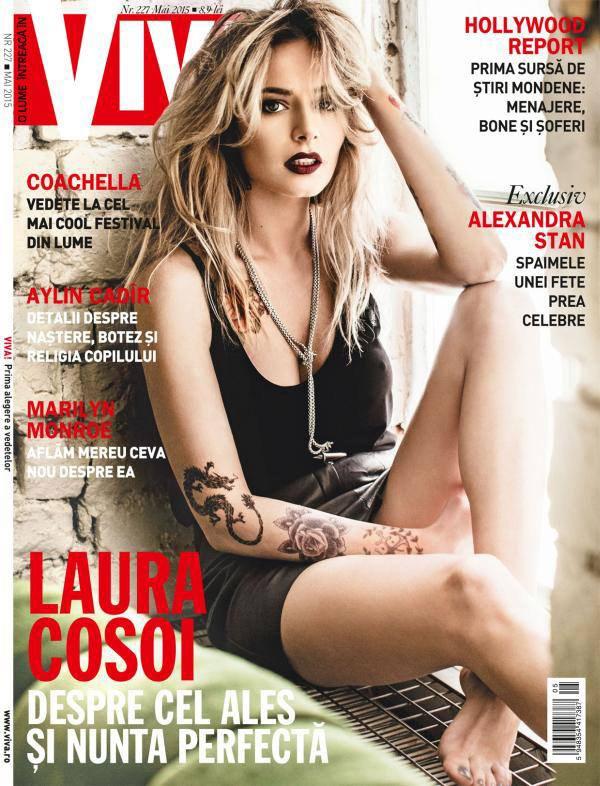 VIVA! ~~ Coperta: Laura Cosoi ~~ Mai 2015