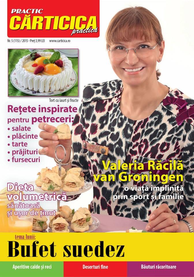 Carticica Practica ~~ Coperta: Valeria Racila van Groningen ~~ Mai 2015 ~~ Pret: 4 lei