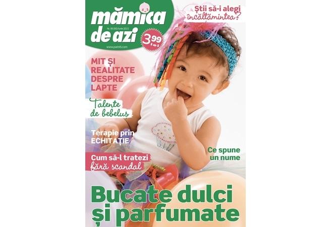 Revista MAMICA DE AZI  ~~ Cum sa-l tratezi fara scandal ~~ Iunie 2015 ~~ Pret: 4 lei