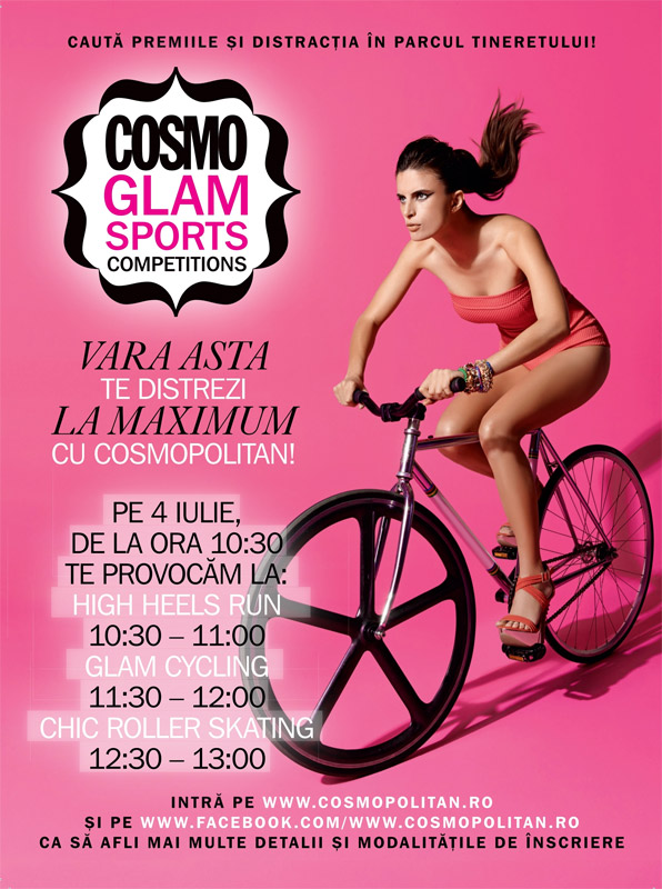 Cosmo Glam Sports Competition ~~ Bucuresti, 4 Iulie 2015
