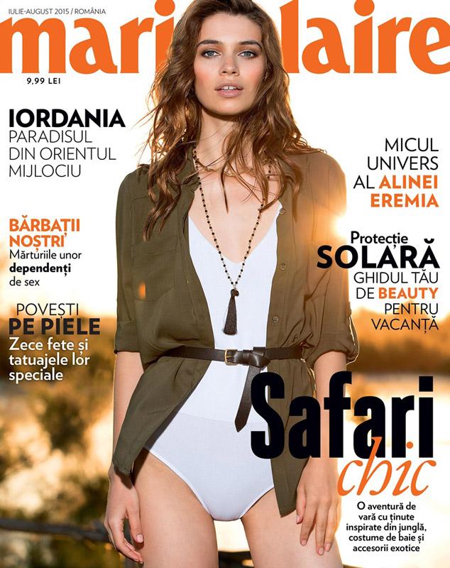 Marie Claire Romania ~~ Iulie-August 2015