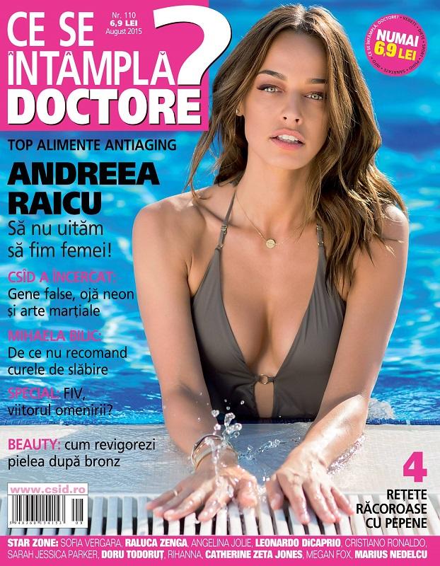Ce se intampla, Doctore? ~~ Coperta: Andreea Raicu ~~ August 2015