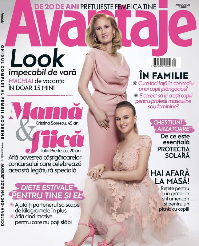 Revista AVANTAJE ~~ August 2015
