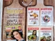 Colectia de 4 carti de bucate, impreuna cu revista Click pentru femei, din 14 August 2015 ~~ Pret: 10 lei