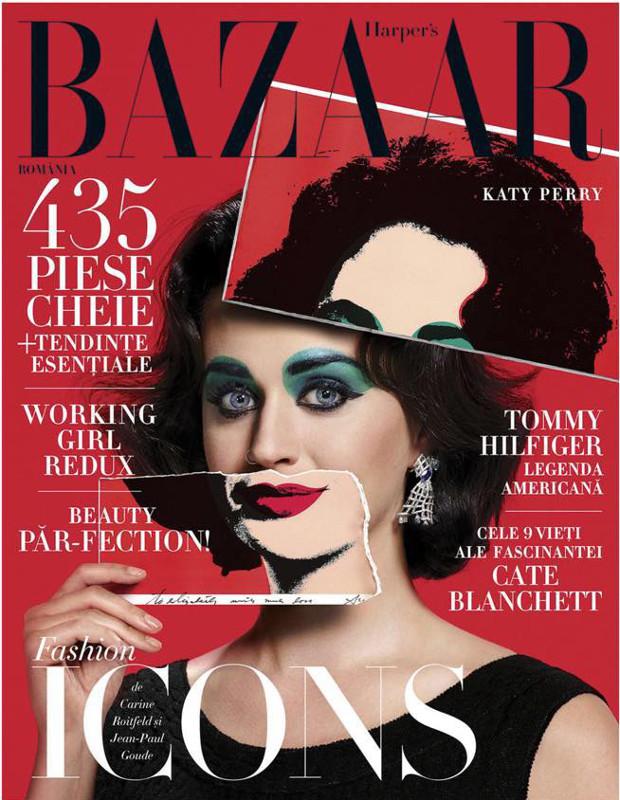 Harper\'s Bazaar Romania ~~ Coperta: Katy Perry ~~ Septembrie-Octombrie 2015