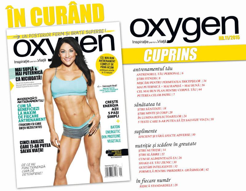 Oxygen Magazine Romania ~~ Septembrie-Octombrie 2015