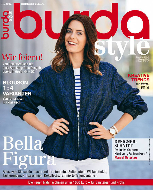 Burda Style Germania ~~ Octombrie 2015