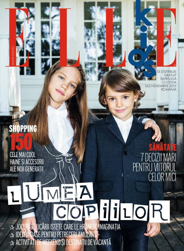ELLE KIDS Romania ~~ Noiembrie 2015