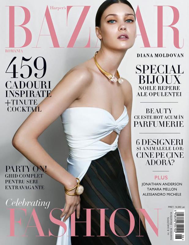 Harpers Bazaar Romania ~~ Noiembrie-Decembrie 2015