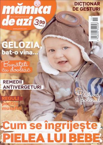 MAMICA DE AZI ~~ Cum se ingrijeste pielea unui bebe? ~~ Noiembrie 2015 ~~ Pret: 4 lei