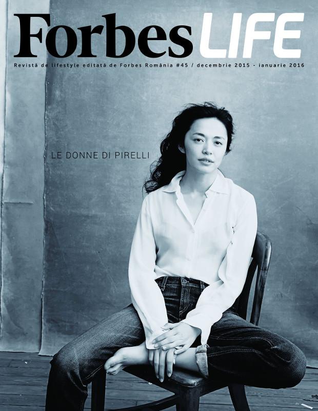 Forbes Life Romania ~~ Le Donne di Pirelli ~~ Decembrie 2015 - Ianuarie 2016