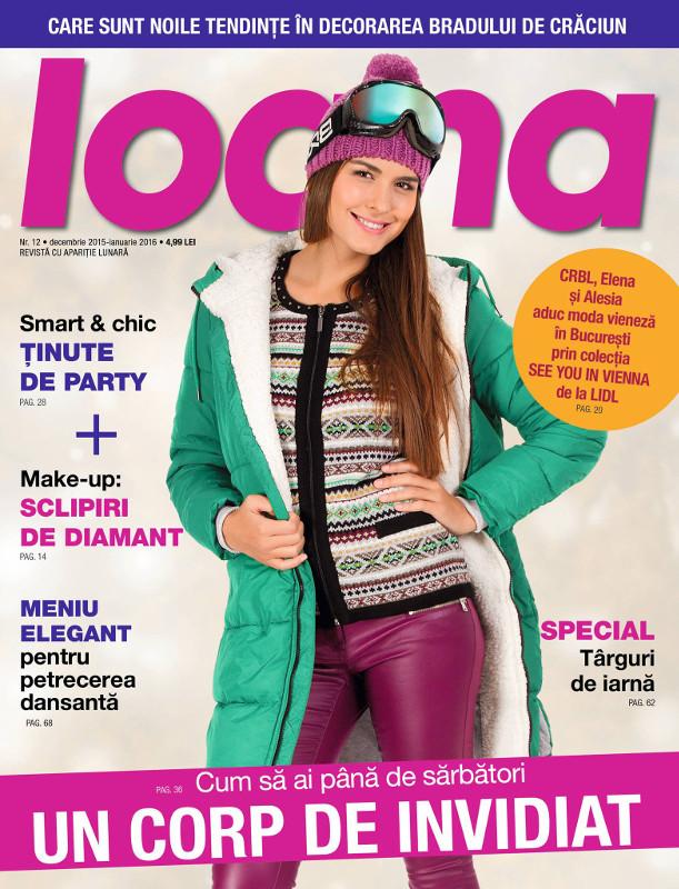 Revista IOANA ~~ Decembrie 2015 - Ianuarie 2016 ~~ Pret: 5 lei