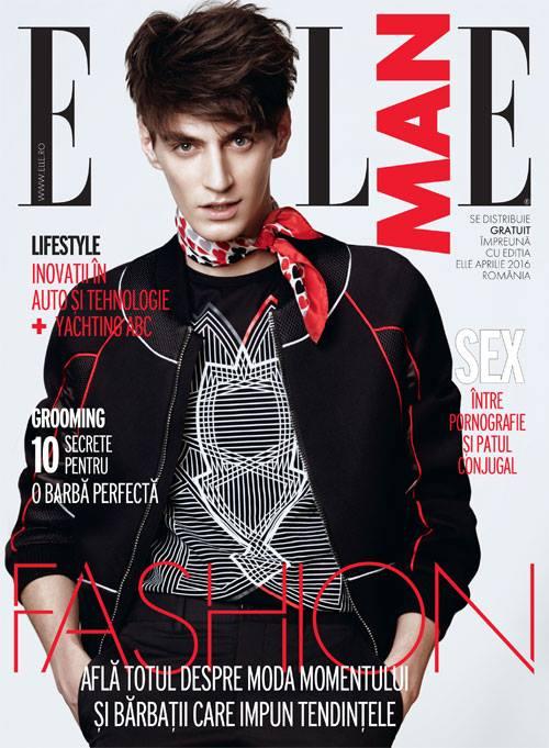 ELLE Man Romania ~~ Aprilie 2016