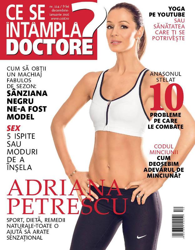 Ce se intampla, Doctore? ~~ Coperta: Adriana Petrescu ~~ Decembrie 2015 - Ianuarie 2016
