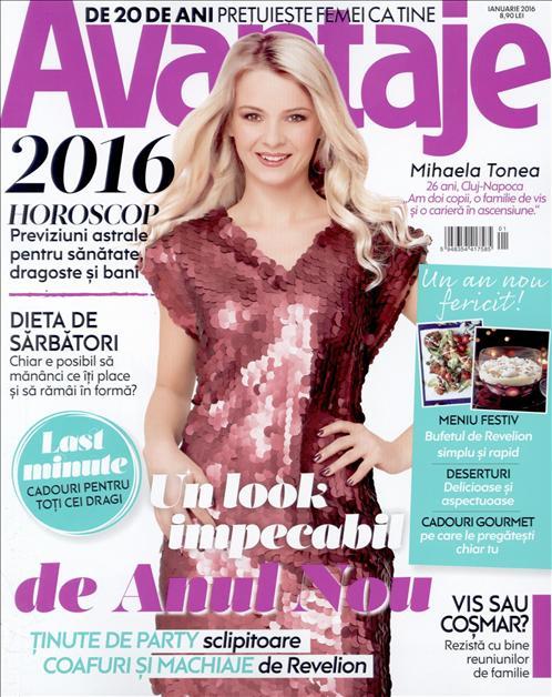 Revista Avantaje ~~ Horoscop 2016 ~~ Ianuarie 2016