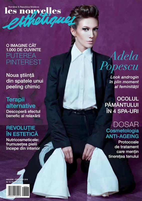 Les Nouvelles Esthetiques ~~ Coperta: Adela Popescu ~~ Ianuarie-Februarie 2016