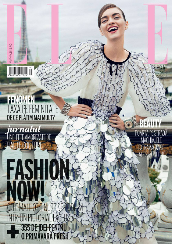 ELLE Romania ~~ Coverstory: Fashion Now! ~~ Martie 2016