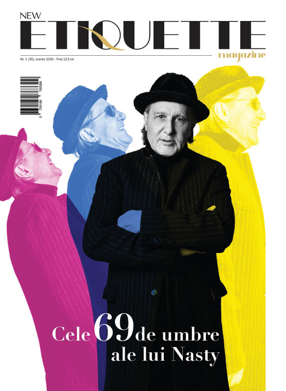 Etiquette Magazine ~~ Coperta: Ilie Nastase ~~ Martie 2016