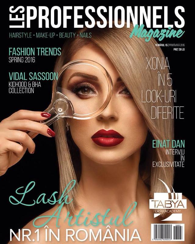 Les Professionnels Magazine ~~ Primavara 2016 ~~ Pret: 29 lei