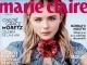 Marie Claire Romania ~~ Coperta: Chloe Grace Moretz ~~ Aprilie 2016