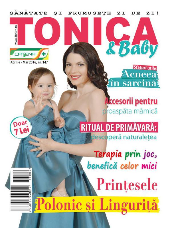 TONICA & BABY ~~ Aprilie 2016 ~~ Pret: 7 lei