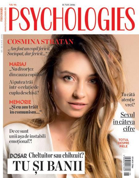 Psychologies Romania ~~ Coperta: Cosmina Stratan ~~ Iunie 2016