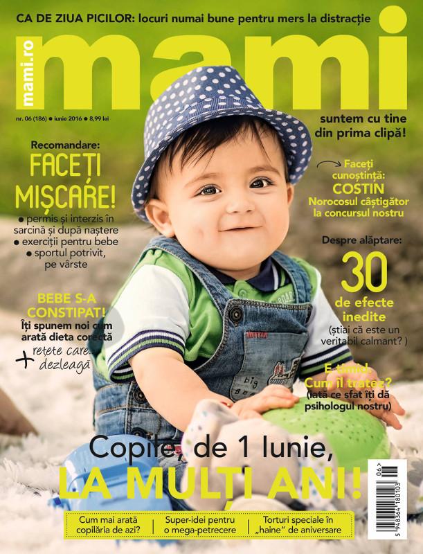 MAMI ~~ Cum arata copilaria de azi? ~~ Iunie 2016 ~~ Pret: 8,99 lei