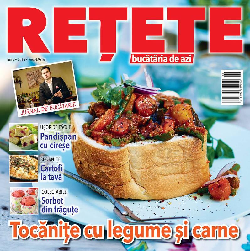 Bucataria de azi RETETE ~~ Tocanite cu legume si carne ~~ Iunie 2016 ~~ Pret: 5 lei
