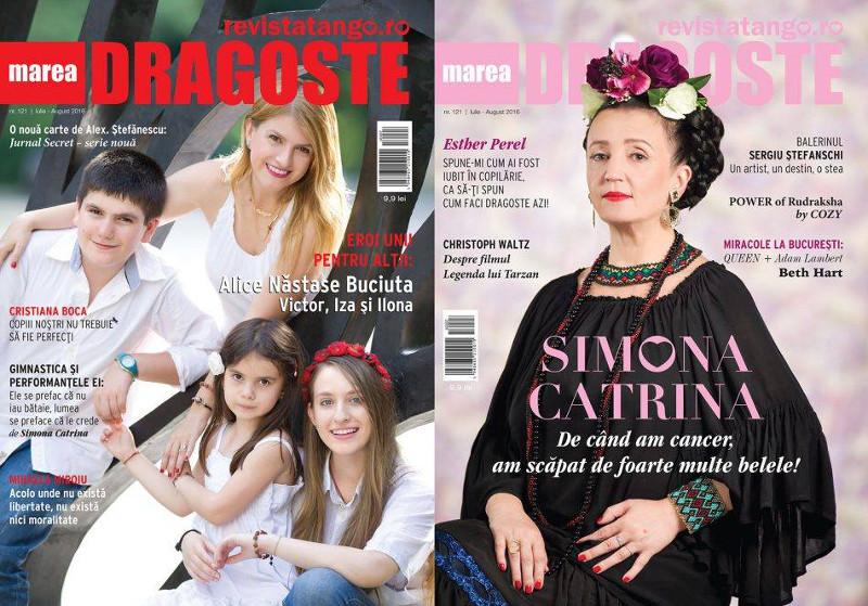 Tango Marea Dragoste ~~ Coperta: Alice Nastase Buciuta si Simpona Catrina ~~ Iulie-August 2016