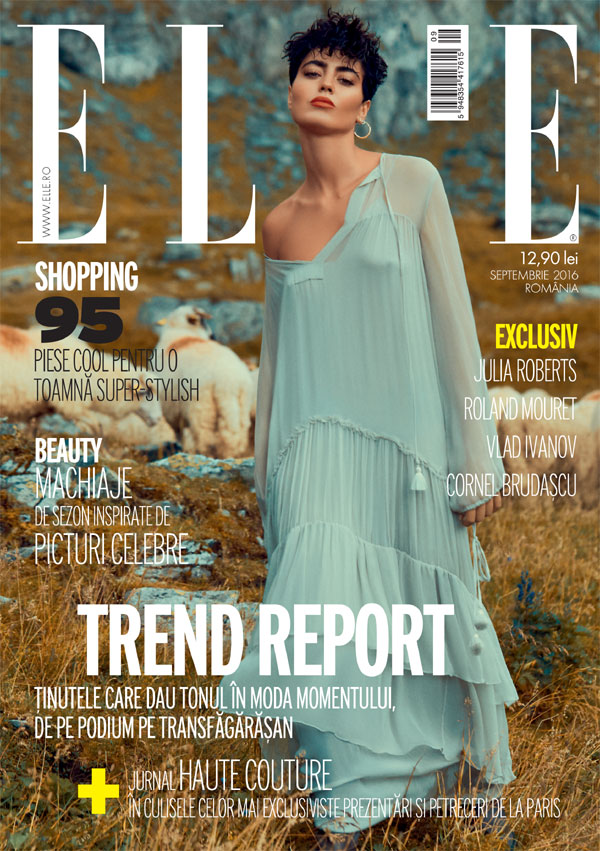 ELLE Romania ~~ Coverstory: Trend Report ~~ Septembrie 2016