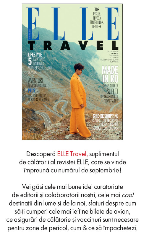 Suplimentul ELLE Travel ~~ Septembrie 2016