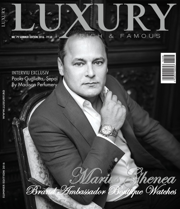 Luxury Magazine Romania ~~ Coperta: Marius Ghenea ~~ Vara 2016