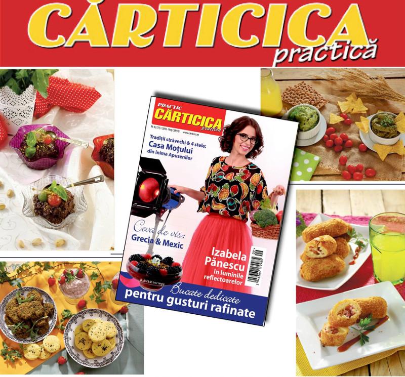 Carticica Practica ~~ Coperta: Izabela Panescu ~~ Septembrie 2016