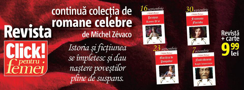 Colectia de 4 carti scrise de Michel Zevaco ~~ 16 Septembrie - 7 Octombrie 2016 ~~ Pret pachet: 10 lei