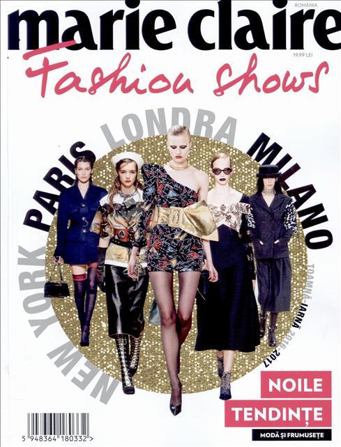 Marie Claire Fashion Shows ~~ Noile tendinte in moda si frumusete ~~ Toamna-Iarna 2015-2016