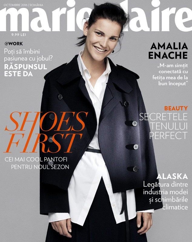 Marie Claire Romania ~~ Coverstory: Shoes First ~~ Octombrie 2016