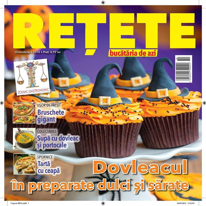 Bucataria de azi RETETE ~~ Dovleacul in preparate dulci si sarate ~~ Octombrie 2016 ~~ Pret: 5 lei
