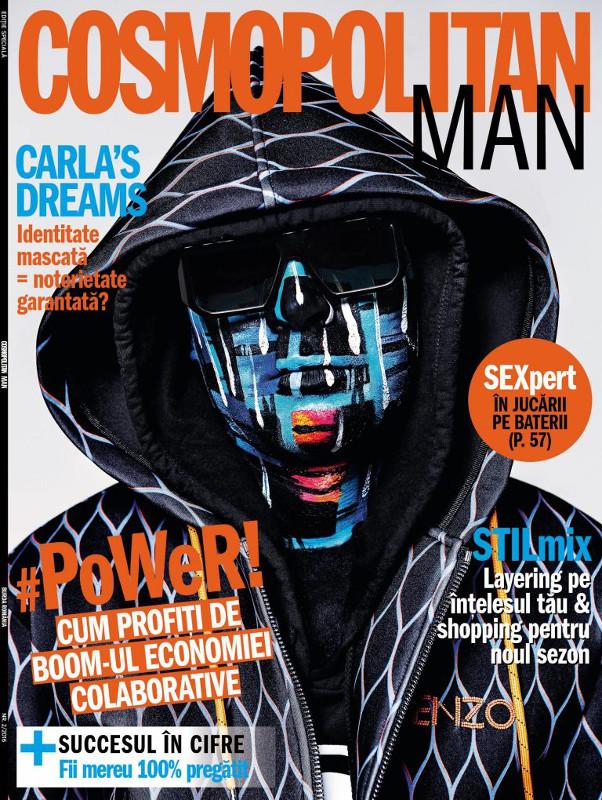 Cosmopolitan MAN ~~ Coperta: Carla\'s Dream ~~ Nr 2 din 22 Noiembrie 2016 ~~ Pret: 10 lei